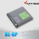 батарея Bl-6p мобильного телефона батареи 3.7V Lituium