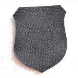 Forma especial etiquetas tecidas para a tela do vestuário