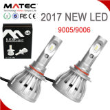 Alta linterna de Lumin 4800lm H7 LED del ventilador de gran alcance de aluminio de la cubierta