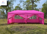 сад Canopy Pop вверх Tent Easy 10ft x 20ft (3m x 6m) Stright Leg Folding Tent Outdoor Gazebo вверх по Gazebo