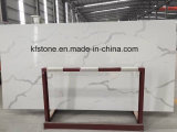 Neue weiße MarmorCalacatta Wand-Umhüllung-Quarz-Fliese