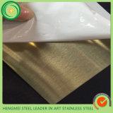 Recipientes 201 da cozinha laminação inoxidável de 304 316 produtos da placa de aço da laminação do PVC com PVC