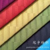 Tissu flexible superbe de relief de velours métallisé pour la tapisserie d'ameublement