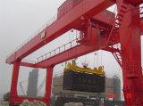 중국 직업적인 제조자 휴대용 레일을 설치하는 콘테이너 미사일구조물 기중기
