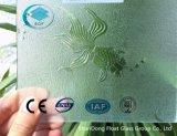 세륨, ISO (3-8mm)를 가진 명확한 황금 물고기 장식무늬가 든 유리 제품