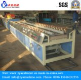 PE 목제 합성 옥외 검술 Decking /Flooring 밀어남 기계