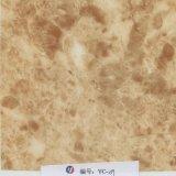 Película de mármore branca da veia do ouro da largura de Yingcai 1m hidro