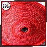 Циновка катушки PVC цвета нашивки двойная, циновка крена валика PVC