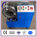 Máquina que prensa del manguito manual portable