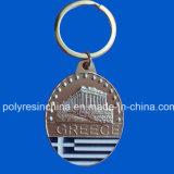 Étain de souvenir en métal pour porte-clés