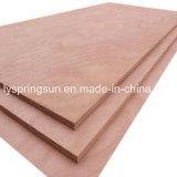 Linyi Furniture Grade Red Hardwood Bintangor contreplaqué