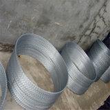 中国の製造者の低価格熱いGalv。 アコーディオン式かみそりの鉄条網