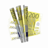 Papel de balanceo de $100 que fuma Bill