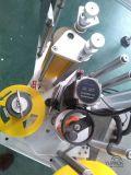 Caras dobles automáticas tapa y máquina de etiquetado de la botella de la etiqueta engomada de la parte inferior