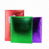 Encarregado do envio da correspondência acolchoado verde metálico lustroso das cores quentes