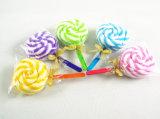 Toalha 100% do bolo de algodão da forma do Lollipop (YT-9922)