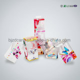 Caixa cosmética extravagante do empacotamento plástico com inserção cortada