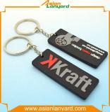 Aangepast 2D pvc Keychain van de Manier