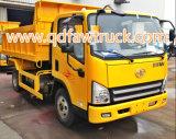 Camion à benne basculante léger de Faw de camion- de 5 tonnes