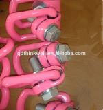 De hete Verkoop G402 smeedde Wartel van de Keten van de Hete ONDERDOMPELING de Gegalvaniseerde Regelmatige