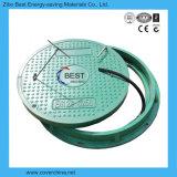 крышки люка -лаза полимера 700mm круглые SMC с набивкой