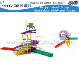 Wasser-Park-kleiner Plastikplättchen-Spielplatz für Kind-Spiel (A-06302)