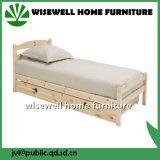 서랍 (WJZ-B10)를 가진 단단한 소나무 1인용 침대