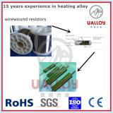 0.1mm para o fio dos resistores Cr20ni35