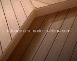 Durable de alta calidad de madera compuesto de plástico Suelos