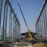 Здание рамки высокого подъема стальное Pre проектированное с структурой Lattic