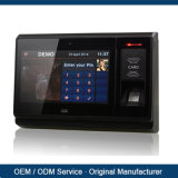 "7"" TFT Biometric Fingerprint Recorder Employee Attendance Time Clock Machine with ID Card Reader"