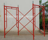 China Manufacturer von Steel Frame Scaffold System für Building Construction