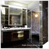 Piano/Bent Tempered/Toughened Glass per Bathroom/Enclosure Door
