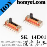 China Fabricante SMD Slide Switch / Mirco Switch (SK-14D01)