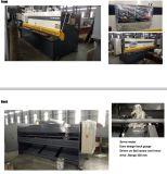 Da placa hidráulica do pêndulo de QC12y máquina de corte