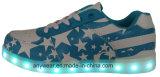 Атлетические тапки скейтборда ботинок спортов людей СИД обуви светлые (816-9980)