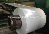 A cor Prepainted material de construção de PPGI revestiu a bobina de aço Prepainted Coil/PPGI do Galvalume laminado a alta temperatura do aço de Aluzinc do Galvalume