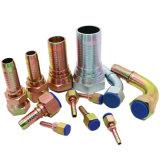 22241 45 Grad Bsp weiblicher hydraulischer Kupplung-Edelstahl-hydraulische Schlauch-Befestigungs-