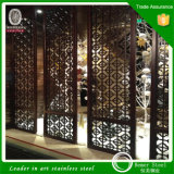 het Roestvrij staal Screen van Perforated Sheet van Messing 304 201 voor restaurant Decorating