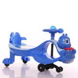 Carro encantador do Wiggle das crianças do projeto dos desenhos animados com puxar o cabo