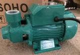 0.37kw / 0.55kw / 0.75KW مضخة السطحية الكهربائية براس الدفاعة للمياه النظيفة (QB60 / QB70 / QB80)