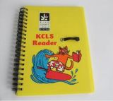 印刷されたカスタム柔らかいペーパーカバーポケット日記のノート