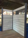 WPC, frontière de sécurité en aluminium de WPC, clôture composée