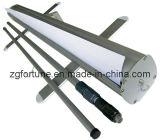 Pólo flexível de alumínio rola acima o carrinho de exposição (FYY-LV-17)