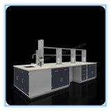鉄骨フレームの金属の実験室の流しのベンチ