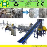 Alta pellicola dell'HDPE di rendimento che ricicla riga per i sacchetti tessuti sacchetti di secchezza di lavaggio della rafia della stagnola pp di agricoltura con il frantoio bagnato
