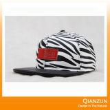 5 chapéus de couro do Snapback da correção de programa do logotipo do painel