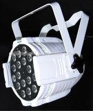 18PCS 10Wの同価はRGBW LEDの同価ライトLED段階ライトを缶詰にする