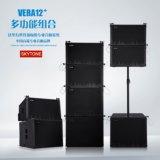 """Vera12+는 골라낸다 12 """" 선 배열 직업적인 오디오 DJ 시스템 스피커를"""