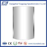 Sin delgado convexo/con del rectángulo ligero del encajar a presión-marco del LED superior cubre-ARB
